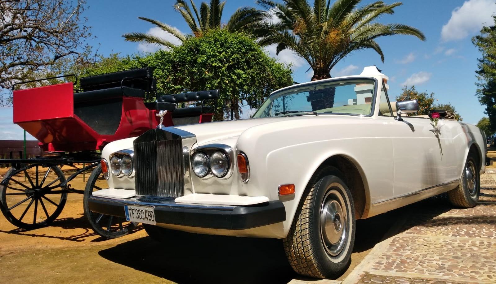 Coche Clásico Rolls Royce Corniche