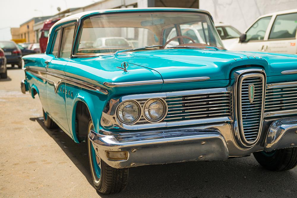 Foto de coche americano clásico Ford Edsel